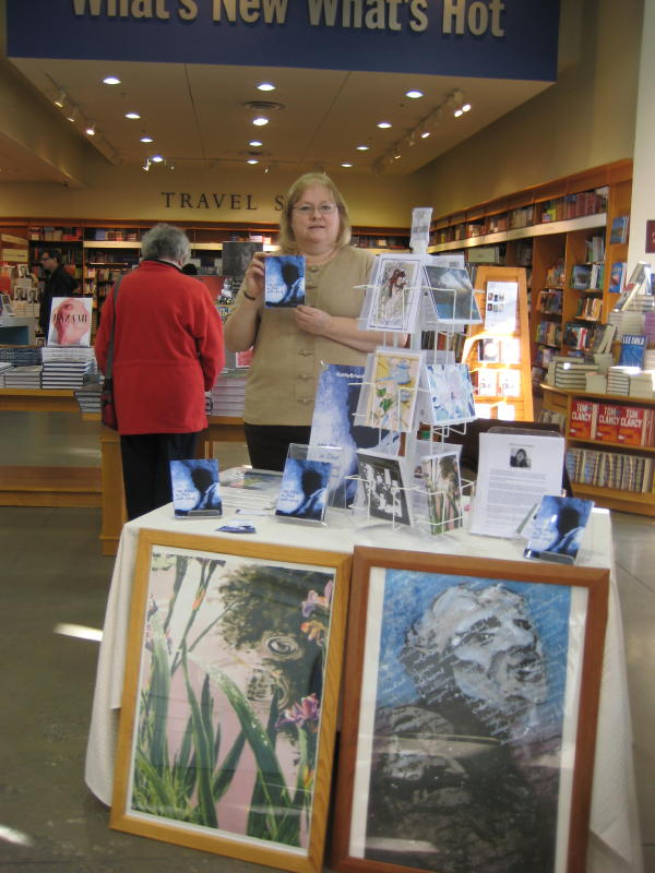 Kathy Briant at Indigo, Signal Hill